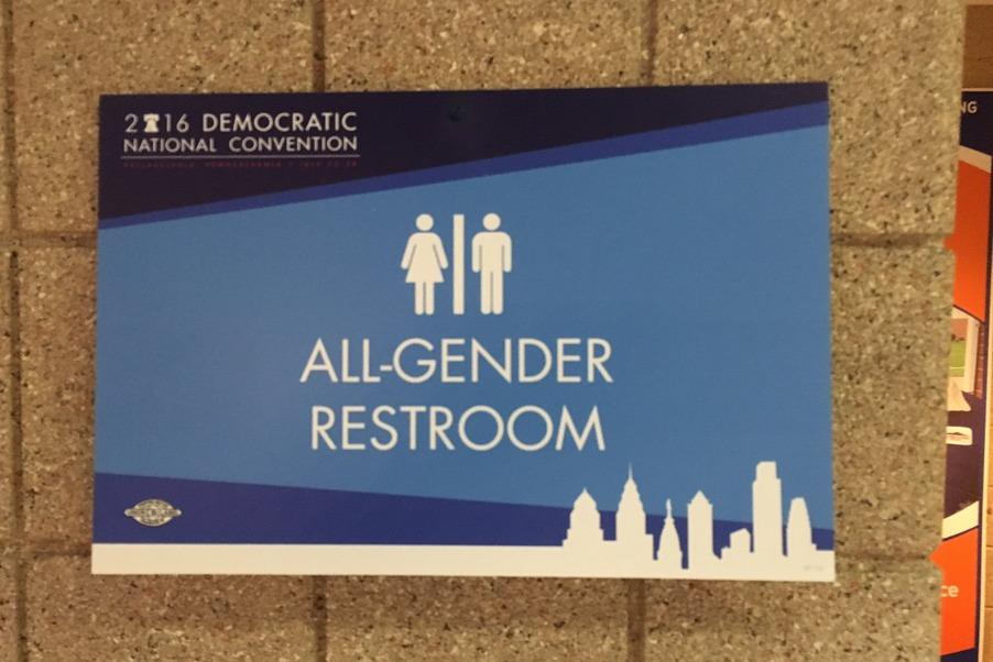 All gender bathroom DNS