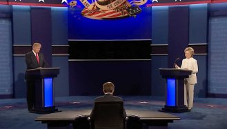 The Roller-Coaster of the Third US Presidential Debate
