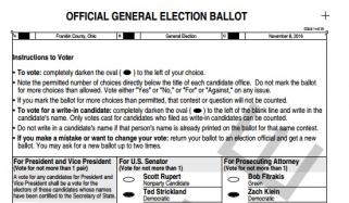 Fraudulent Clinton Votes in Ohio?