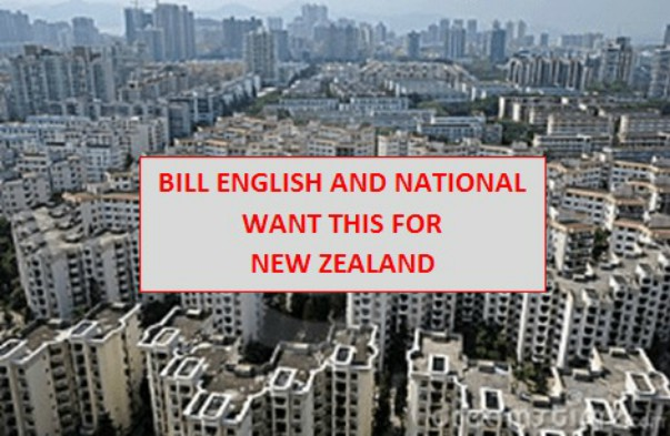 Bill English – We Don't Want Your Immigration